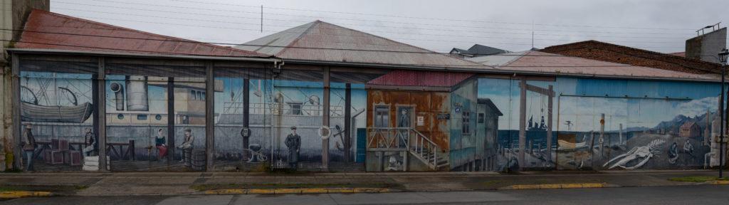 Mural - Punta Arenas