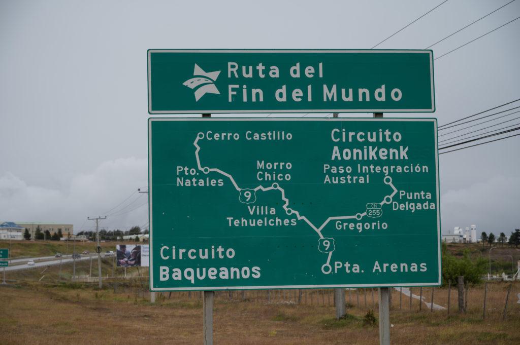 Ruta del Fin del Mundo - Punta Arenas