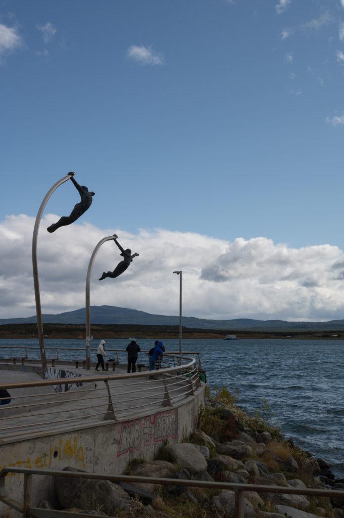 Monumento al viento - Puerto Natales