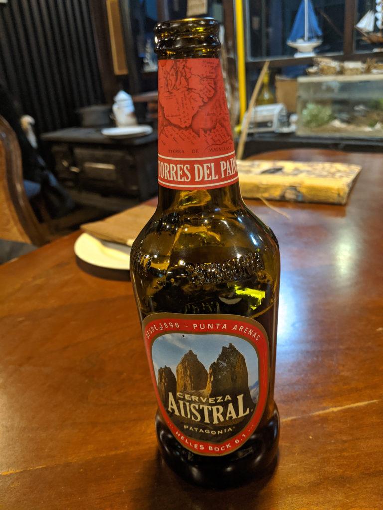 Cerveza Austral Patagonia - Torres del Paine