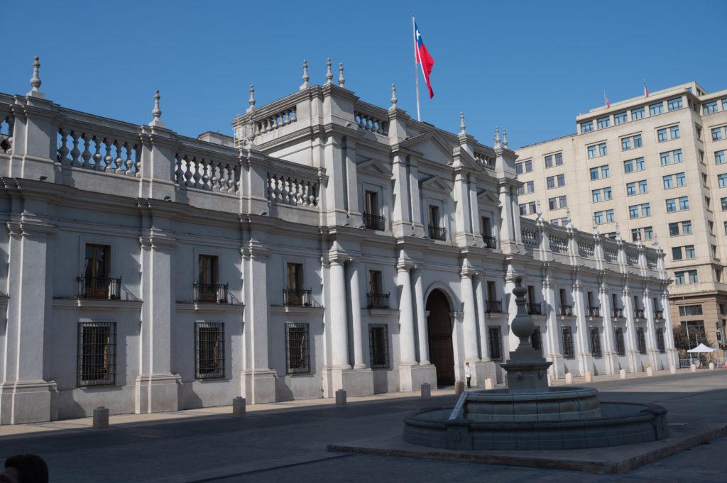 Palacio de La Moneda - Santiago de Chile